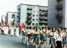 Vasaros šventė - eisenoje jauniausieji pionieriai - Nuotraukos autorius: Girčys Izidorius