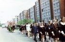 Vasaros šventė - mokinių eisena - Nuotraukos autorius: Girčys Izidorius