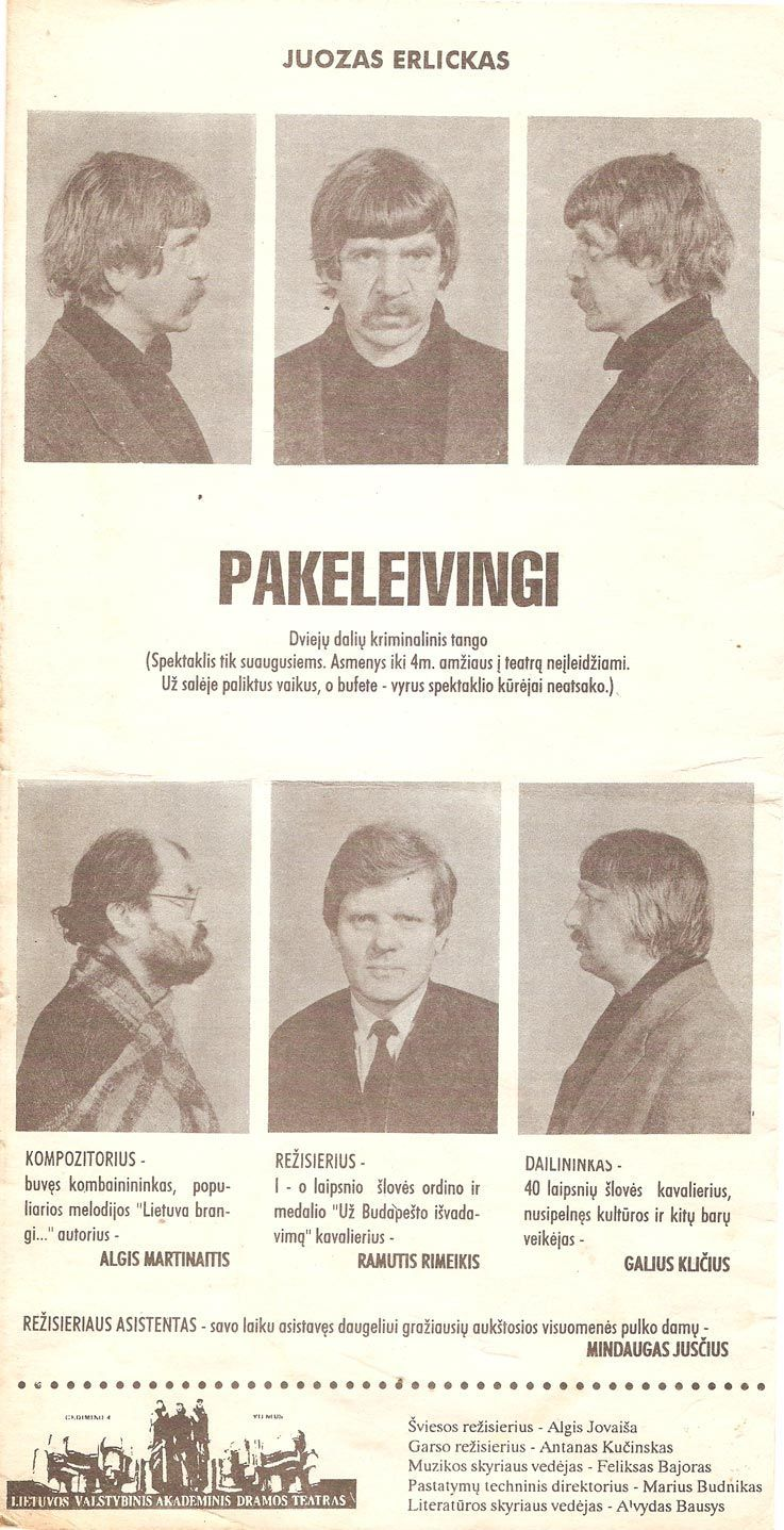"""Juozas Erlickas """"Pakeleivingi"""""""