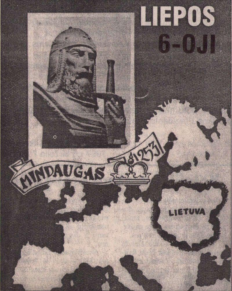 Valstybės (Lietuvos karaliaus Mindaugo karūnavimo) diena (1997) - Paminėjimas ant Vorutos piliakalnio