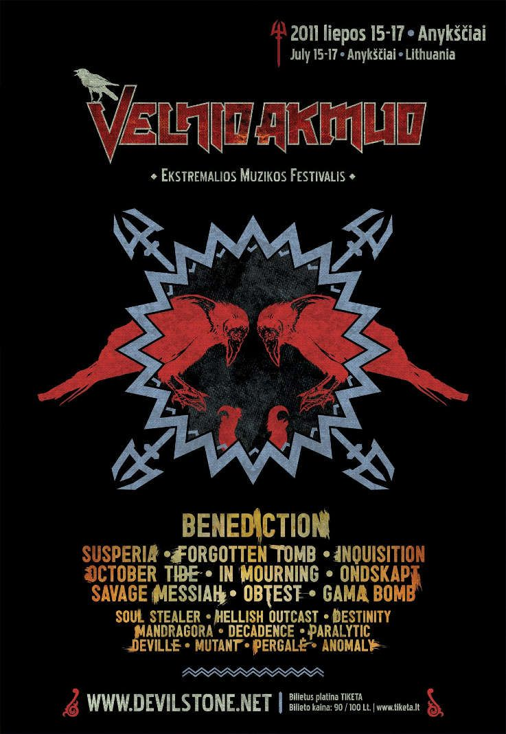 """Festivalis """"Velnio Akmuo"""" (2011) - Įžanginė diena"""