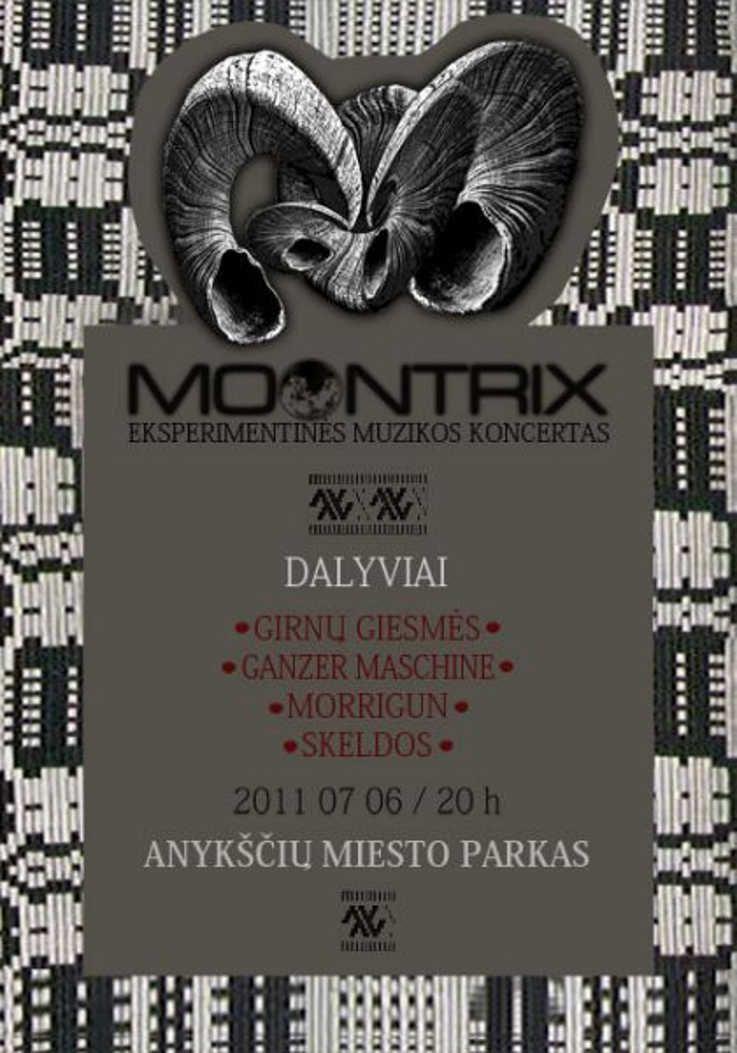 MOONTRIX eksperimentinės muzikos koncertas