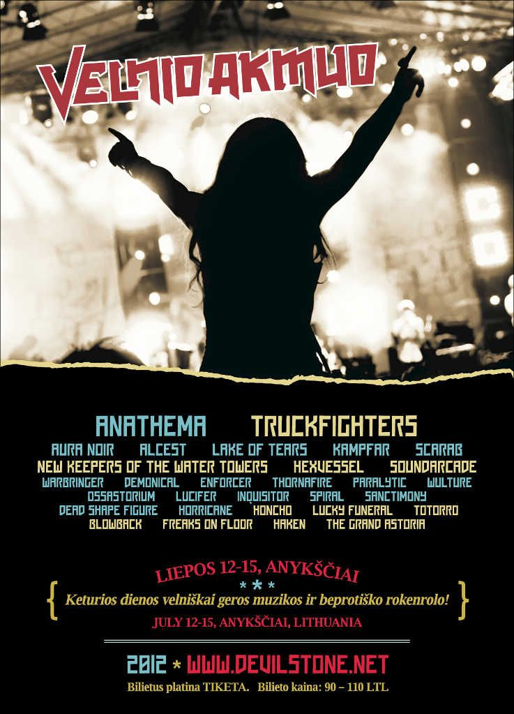 "Festivalis ""Velnio Akmuo"" (2012) - Antroji diena"