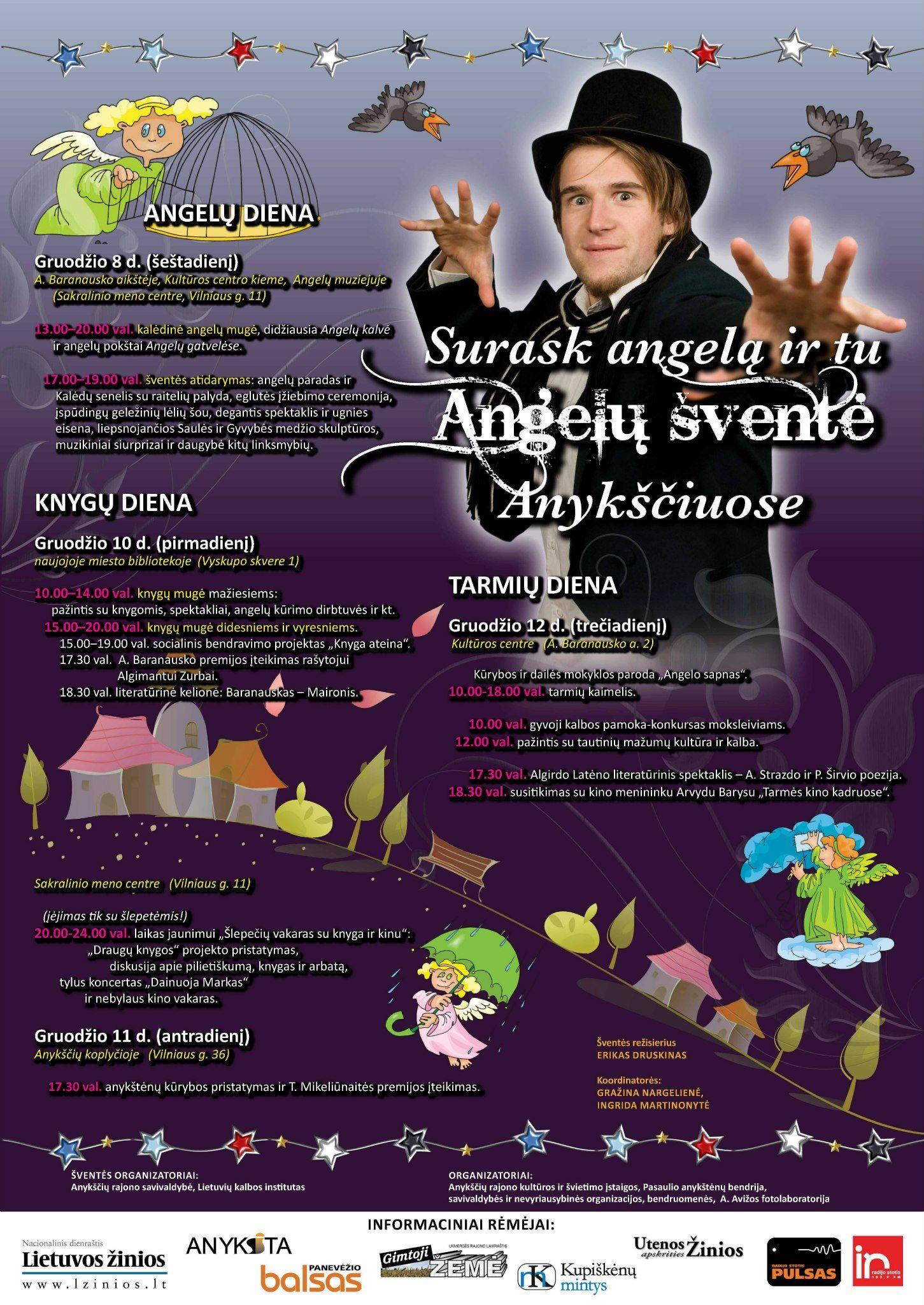 Angelų šventė Anykščiuose (2012) - Knygų diena