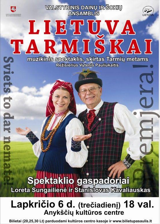 """Muzikinis spektaklis """"Lietuva tarmiškai"""""""