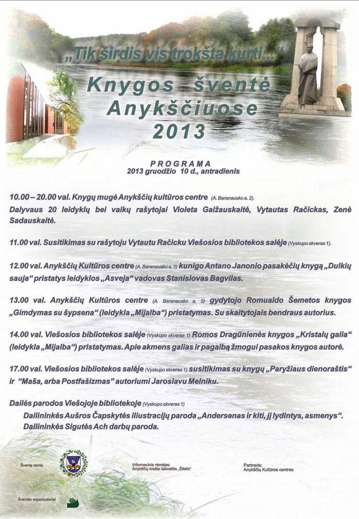 """Knygos šventė """"Tik širdis vis trokšta kurti"""" (2013) - Susitikimas su Jaroslavu Meiniku"""