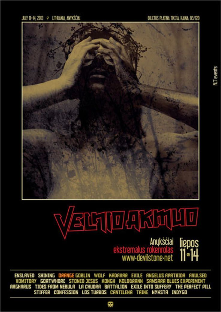 "Festivalis ""Velnio Akmuo"" (2013) - Trečioji diena"