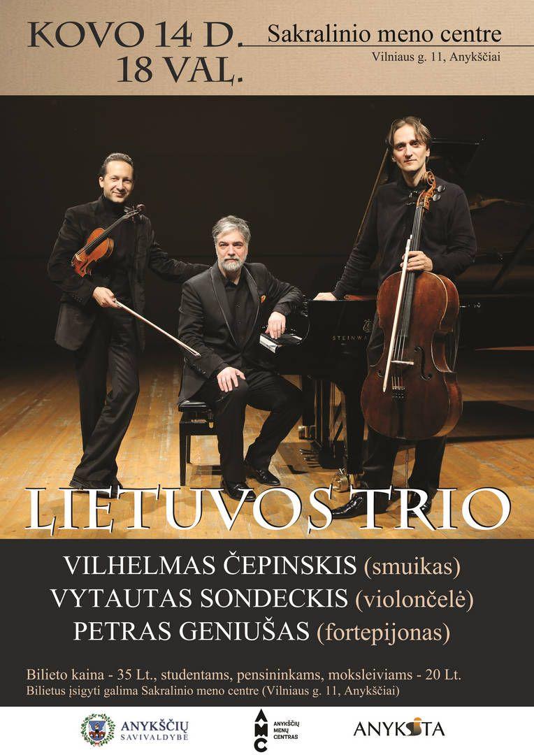 Lietuvos Trio koncertas