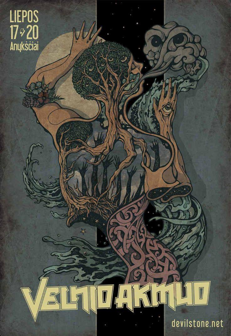 "Festivalis ""Velnio Akmuo"" (2014) - Antroji diena"