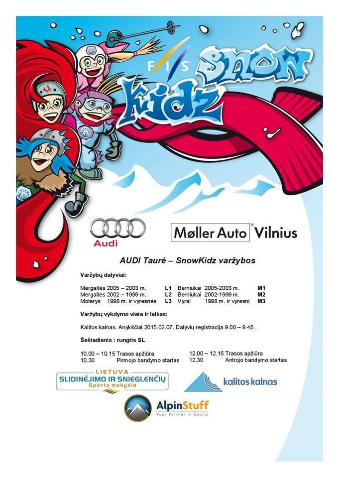 Audi taurės varžybos ant Kalitos kalno