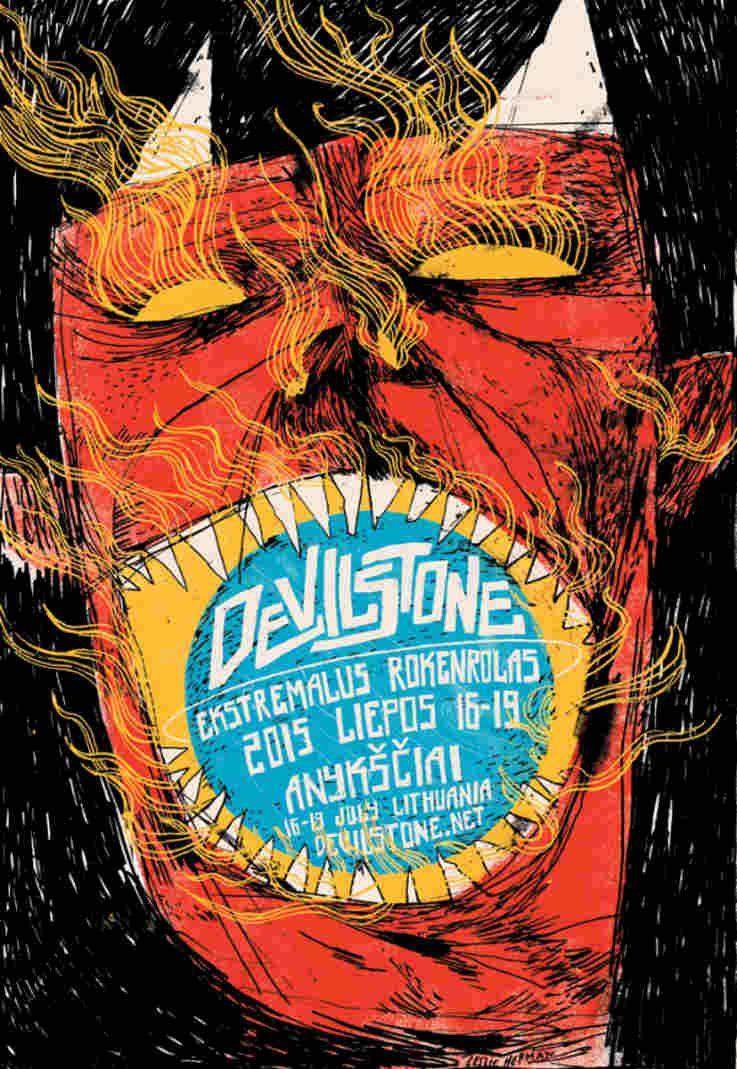 "Festivalis ""Devilstone"" (2015) - Antroji diena"