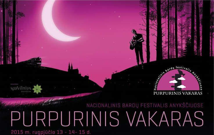 """Festivalis """"Purpurinis vakaras"""" (2015) - Koncertas """"Miesto vaikas"""""""
