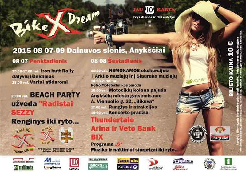 "Baikerių festivalis ""Bike X Dream"""