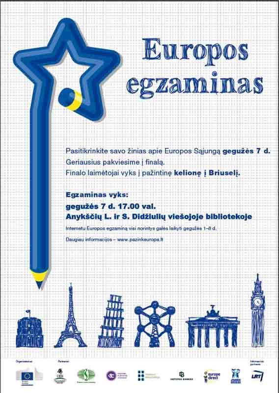 Europos egzaminas 2015