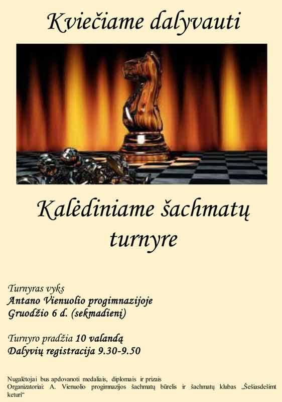 Kalėdinis šachmatų turnyras