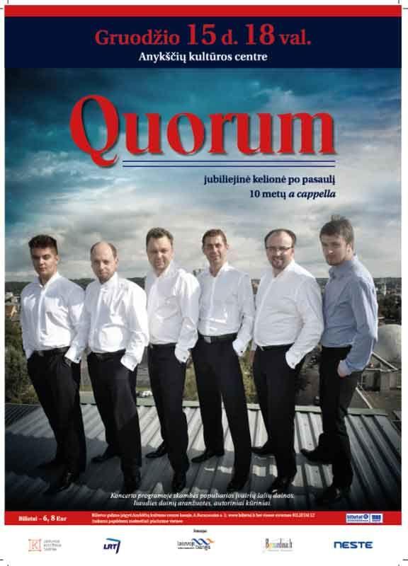 """Quorum"" koncertas"