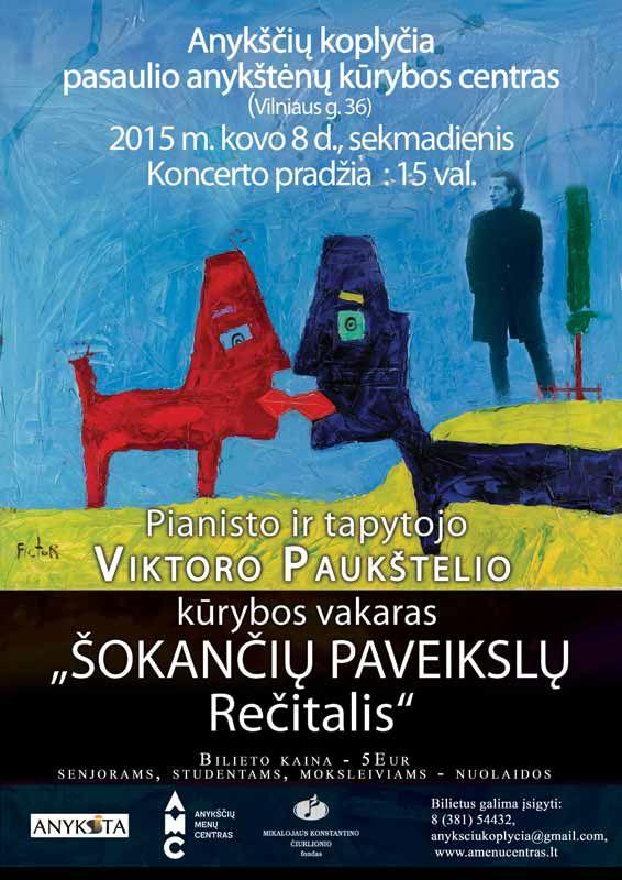 Solinis pianisto Viktoro Paukštelio koncertas