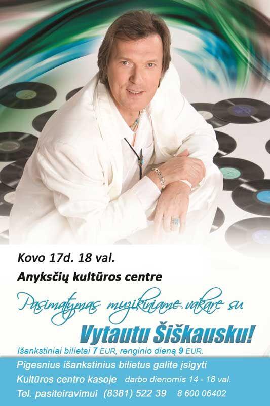 Vytauto Šiškausko koncertas