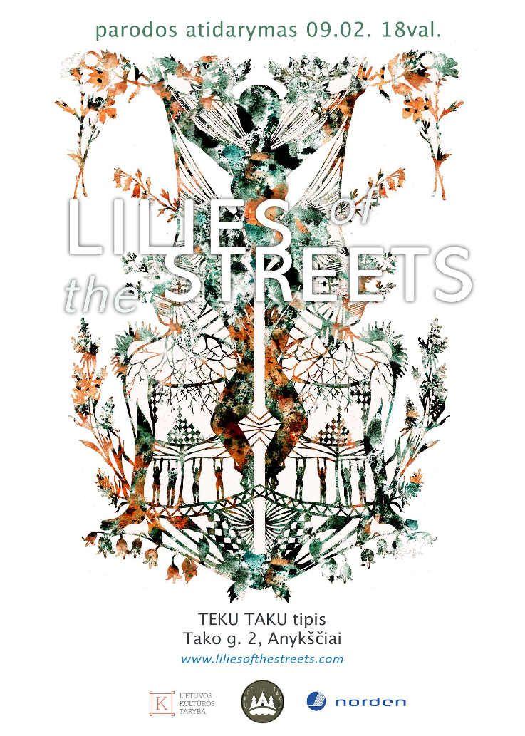Gatvės Lelijos - parodos atidarymas