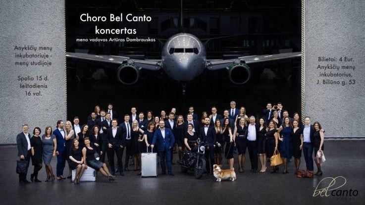 "Choro ""Bel Canto"" koncertas"