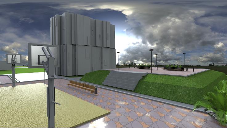 Anykščių miesto gyvenamųjų kvartalų viešųjų erdvių sutvarkymo darbų ekspozicija