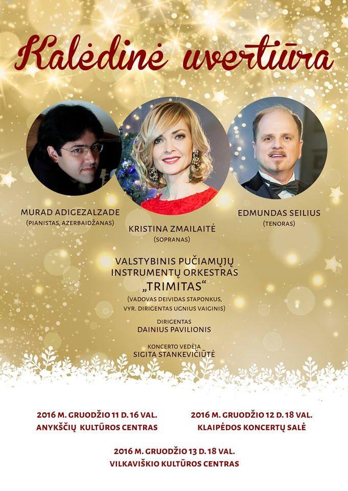 """Valstybinio pučiamųjų instrumentų orkestro """"Trimitas"""" koncertas """"Kalėdinė uvertiūra"""""""