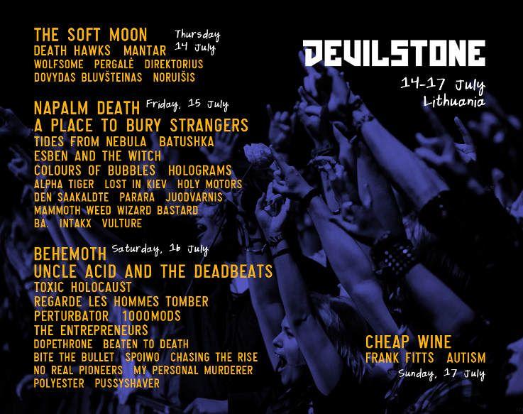 """Festivalis """"Devilstone"""" (2016) - Pirmoji diena"""