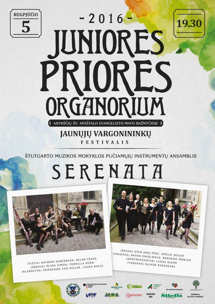 """Tarptautinis jaunųjų vargonininkų festivalis """"Juniores priores organorium"""" (2016) - Ketvirtoji diena"""