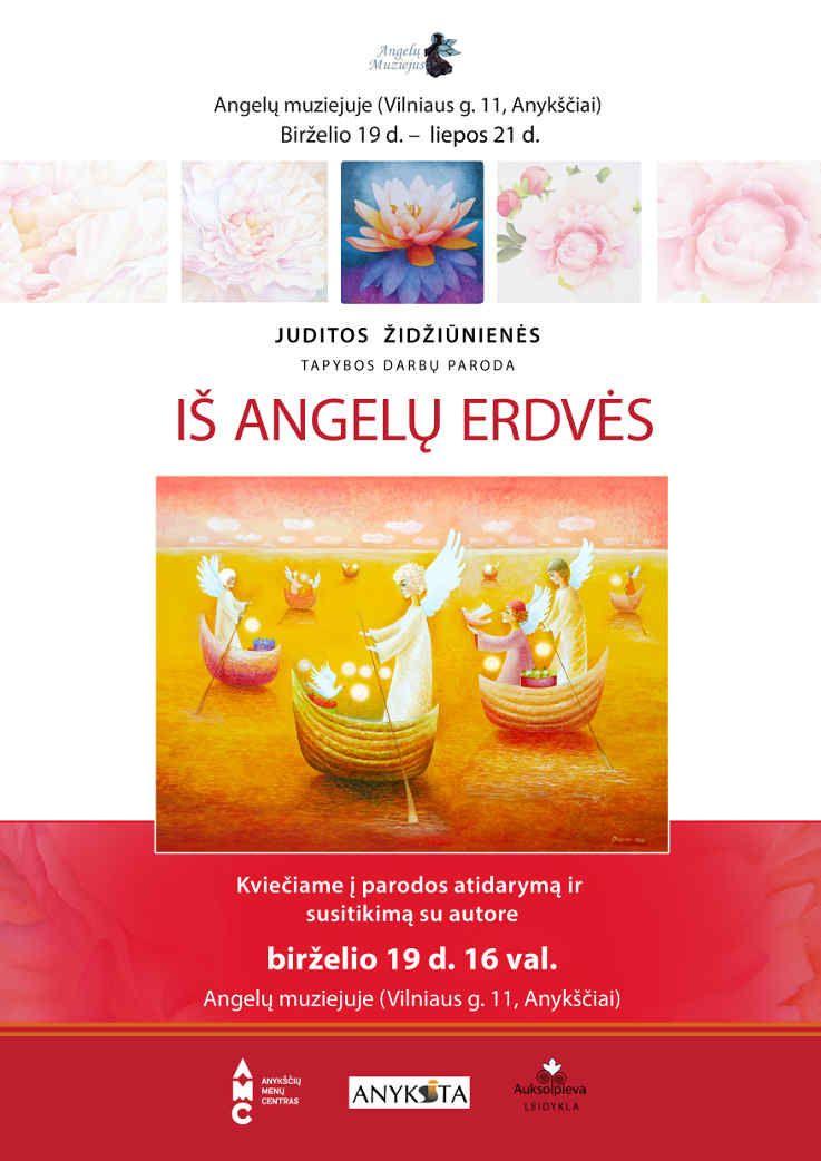 """Juditos Židžiūnienės tapybos darbų parodos """"Iš angelų erdvės"""" atidarymas"""