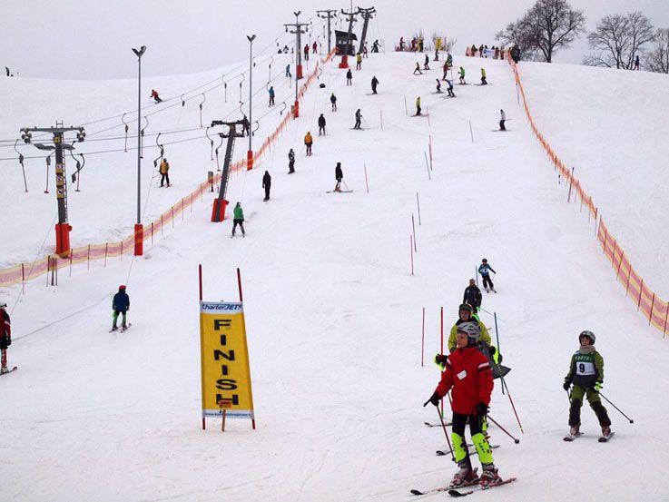 Lietuvos kalnų slidinėjimo varžybos Kalitos taurei laimėti
