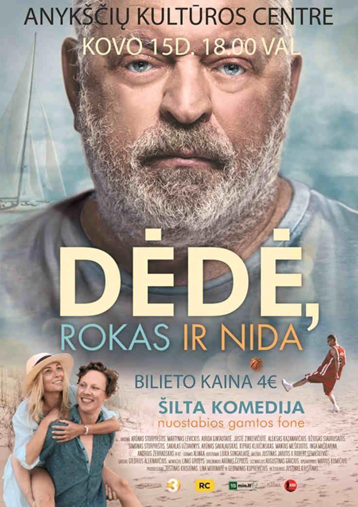 """Kino filmas """"Dėdė Rokas ir Nida"""""""