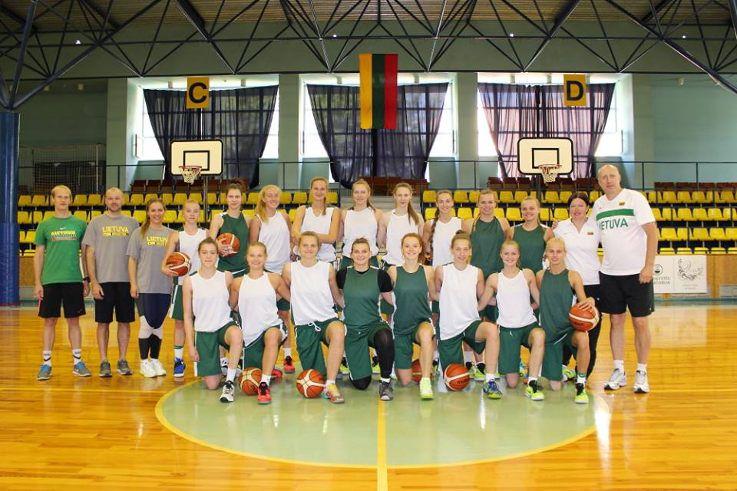 Lietuvos ir Ukrainos U20 merginų rinktinių paruošiamosios Europos čempionato varžybos