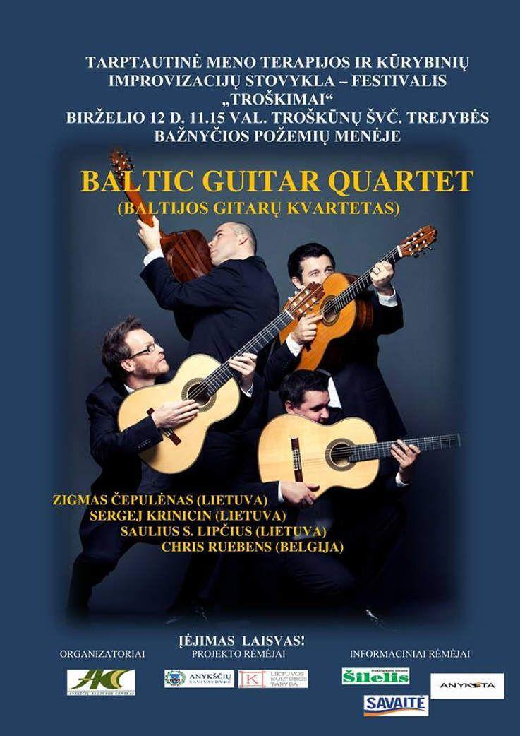 BALTIC GUITAR QUARTET (Baltijos gitarų kvartetas)