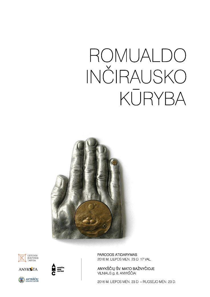 Romualdo Inčirausko darbų parodos atidarymas
