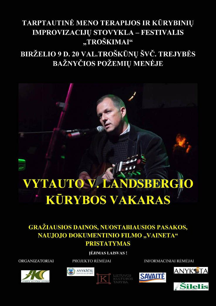 Vytauto V. Landsbergio kūrybos vakaras
