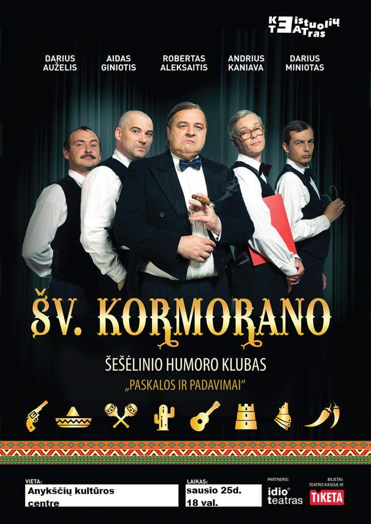 """Šv. Kormorano šešėlinio humoro klubas """"Paskalos ir padavimai"""""""