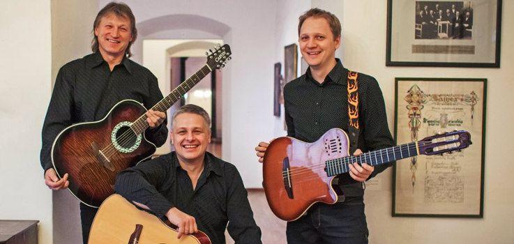 "Gitaros virtuozai Vilnius Guitar Trio koncerte ""Gitaros atradimai"""