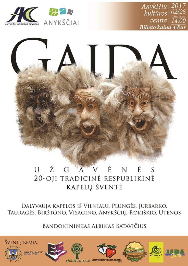 """20-oji respublikinė kapelų šventė """"Gaida"""""""