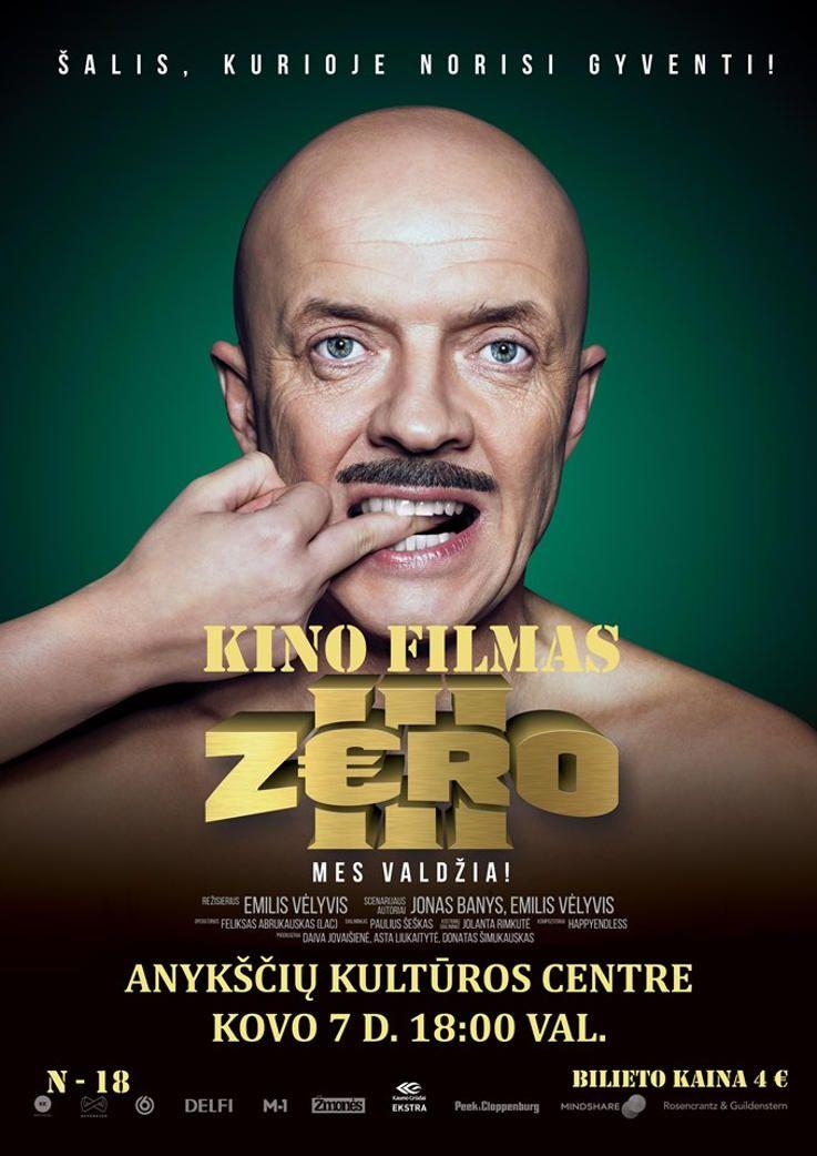 """Kino filmas """"Zero 3"""""""