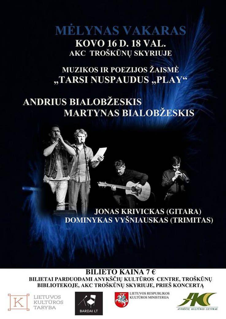 Mėlynas vakaras - Andrius Bialobžeskis - Martynas Bialobžeskis