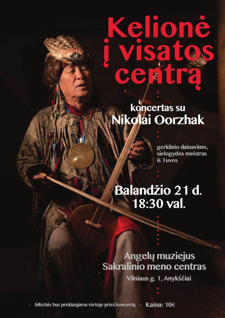 Nikolaj Ooržak koncertas Anykščiuose - Kelionė į Visatos centrą