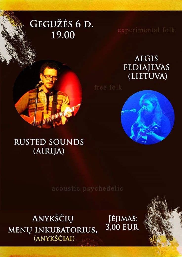 Rusted Sounds ir Algis Fediajevas