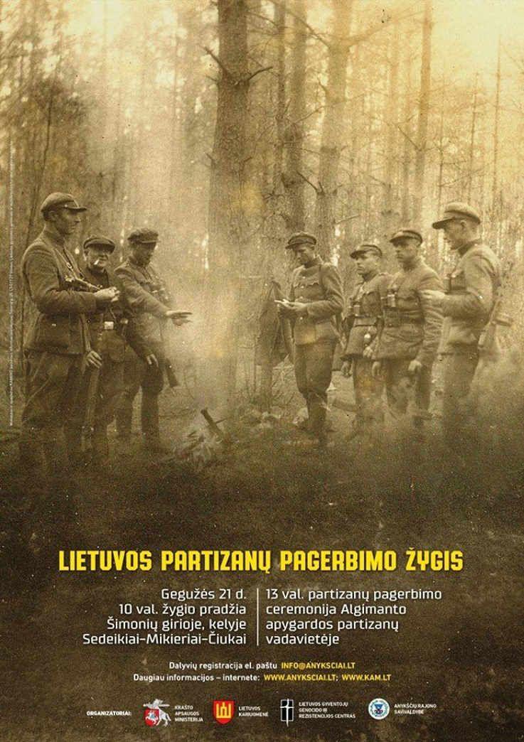 Žygis Lietuvos partizanams pagerbti