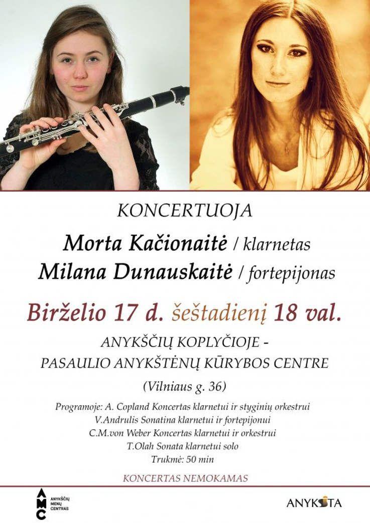 Klarneto ir fortepijono koncertas