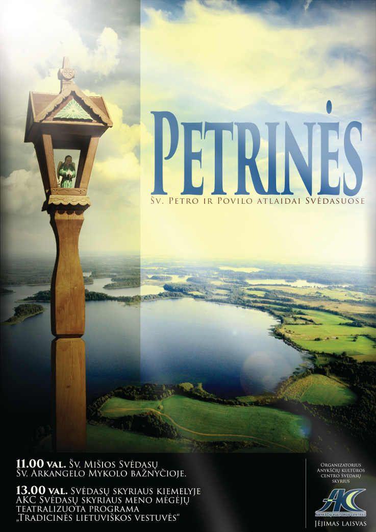 Petrinės - Šv. Petro ir Povilo atlaidai Svėdasuose