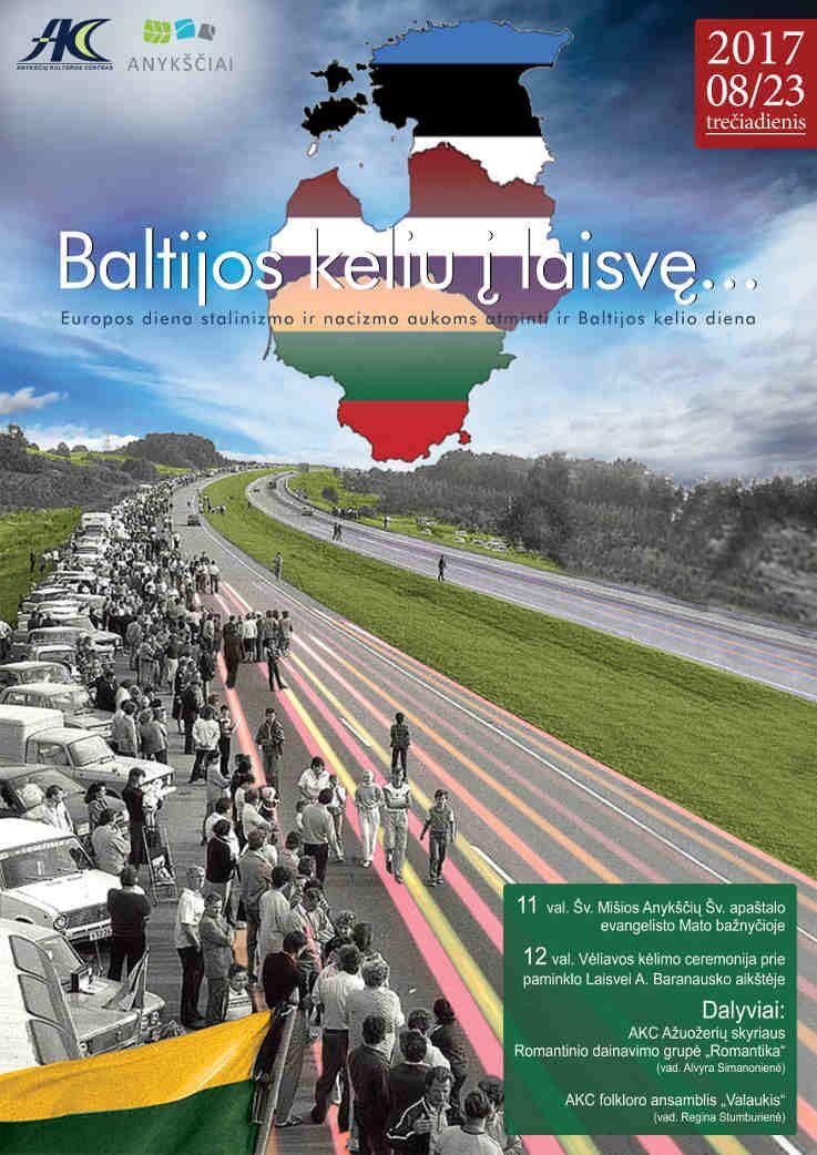 Baltijos keliu į laisvę... (2017) - Vėliavos kėlimo ceremonija / Koncertas