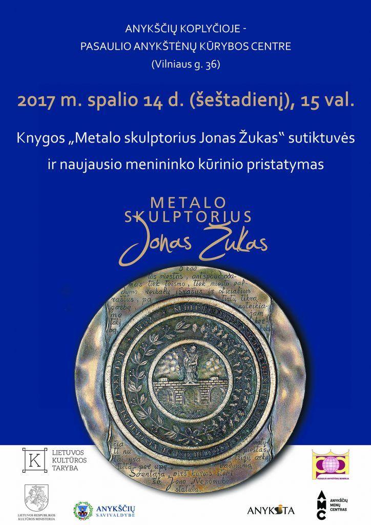 Metalo skulptoriaus Jono Žuko knygos ir naujausio kūrinio pristatymas
