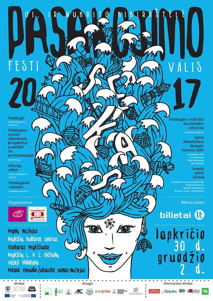 """Tarptautinis pasakojimo festivalis """"SEKAS"""" (2017) - Konferencija - Pasakojimo menas šiandienai"""