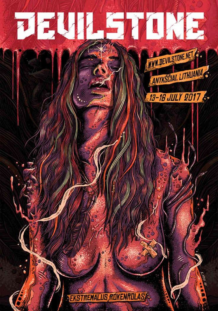 "Festivalis ""Devilstone"" (2017) - Antroji diena"