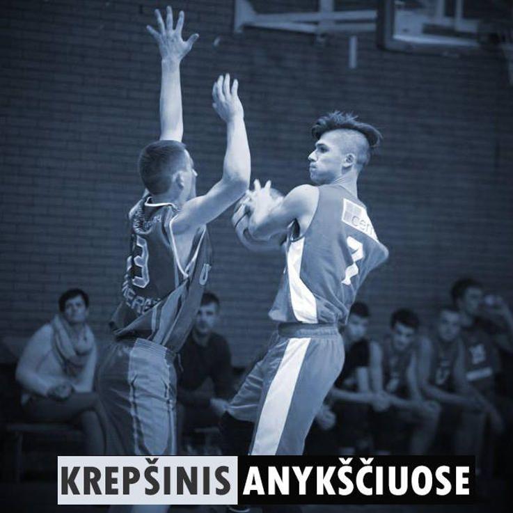 """Anykščių rajono krepšinio pirmenybės - """"KKSC"""" - """"Svėdasai"""""""